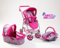 Roxy Roller 3 in 1 Dolls Pram