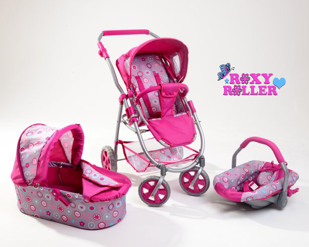 Roxy Roller 3 In 1 Dolls Pram