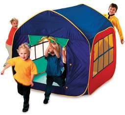Mega Mansion Childrens Fast Erect Pop Up Play Tent  sc 1 st  Jacksons Leisure Supplies & Mega Mansion Childrens Large Pop Up Playhouse Play Tent Kids UK