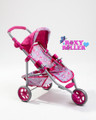 Roxy Roller Mini 3-Wheel Baby Doll Pushchair