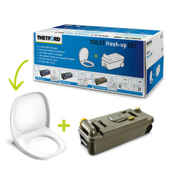 Thetford C234 Holding Tank and Spare seat for caravan motorhome cassette toilets C2 C3 C4