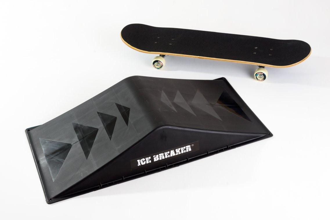 Skate Board Ramp >> Ice Breaker Skateboard Spine Skate Bmx And Scooter Ramp