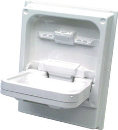 Cleo Tip Up Sink Folding Vanity Basin for Caravans & Motorhomes