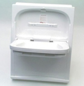 Contessa Tip Up Folding Vanity Basin For Caravans And