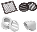 Dometic Air con vents, Elbows and heater flue nuts