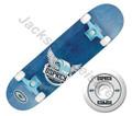 Osprey Pride OSX Double Kick Concave Skateboard