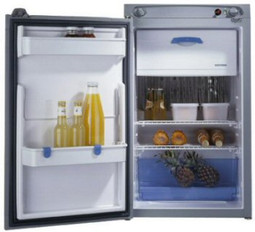 Thetford N80 Fridge showing capacity