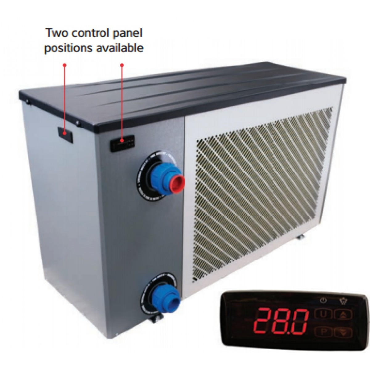 Pool Heat Pump >> Calorex Pro Pac Domestic Swimming Pool Heat Pump Summer Season