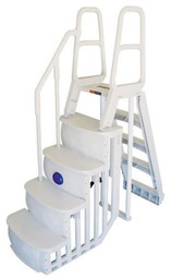 Smart Step Ladder System for Above Ground Swimming Pools