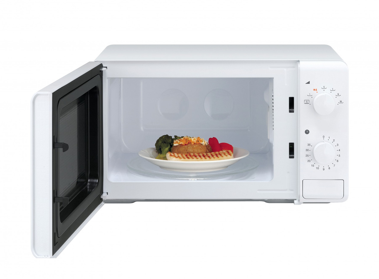 Daewoo Compact KOR6M17R QT1 Microwave Oven For Caravans and