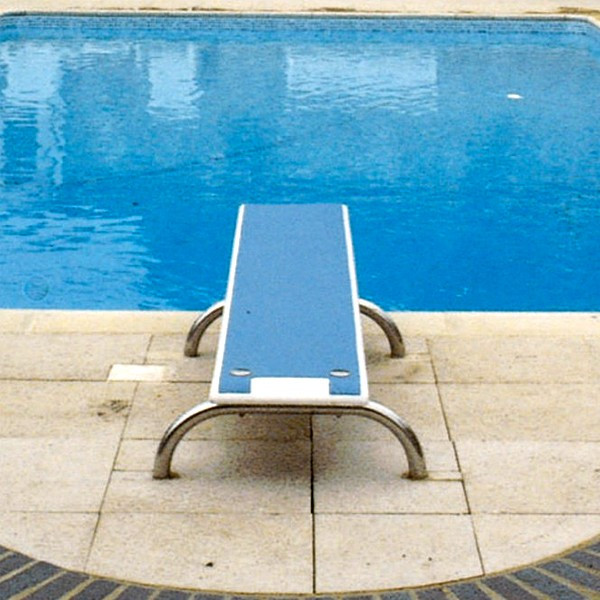 Kestrel Swimming Pool Diving Board with Stainless Stanchions