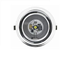 Dometic L23RM With Chrome Bevel LED Downlight caravan or campervan
