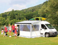 Fiamma F65 Motorhome Awning Privacy Room can be bought with specialised side panels allowing the Privacy Room to fit any Campervan and Motorhome