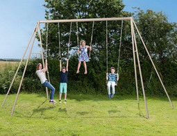 Large Adult Garden Swing Set by Trigano.