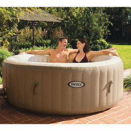 Intex PureSpa Bubble Therapy Inflatable Hot Tub Spa