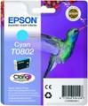 Epson T0802 cyan ink cartridge