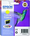 Epson T0804 yellow ink cartridges