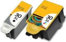 Kodak 30XL black Kodak 30XL colour ink cartridges