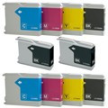 Brother LC1100 ink cartridges