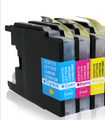 Compatible Brother LC1280 cyan magenta yellow multipack printer ink cartridges