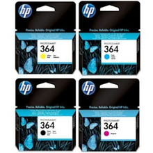 HP 364 black cyan magenta yellow ink cartridges combo multipack