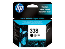 HP 338 black ink cartridge