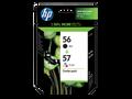 HP 56 HP 57 ink cartridges