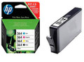 HP 364 BCMY original combo pack + HP 364XL black compatible ink cartridge