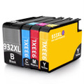 HP 932XL HP 933XL printer ink cartridges for HP Officejet 6100