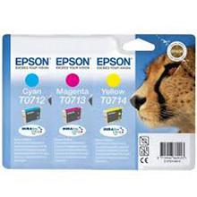 Epson T0712, Epson T0713, Epson T0714 ink cartridges