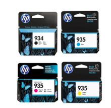 HP 934 HP 935 black cyan magenta and yellow multipack combo for HP Officejet Pro 6230 ePrinter & HP Officejet Pro 6830 ePrinter.