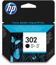 Genuine black HP 302 ink cartridge. HP F6U66AE inkjet for HP Officejet 3830 all in one printer