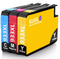 HP 933XL cyan, magenta, yellow combo pack for HP Officejet 6100 printers