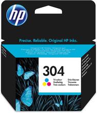 Original HP 304 colour printer ink cartridge N9K05AE