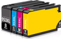HP 953XL multipack printer ink cartridges, high capacity Non OEM compatible for HP Officejet printers