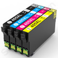 Epson 405XL multipack compatibles, Non OEM, high capacity alternative for Epson Workforce Pro WF3820 printers