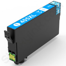 Epson 405XL cyan compatibles, Non OEM, high capacity for Epson Workforce WF-4830 printers