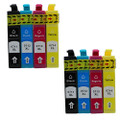 Compatible Epson T0715 multipack printer ink cartridges (8 inks)