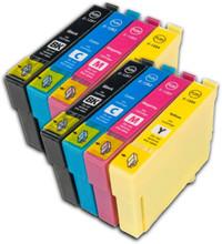 Epson T1285 multipack printer ink cartridges T1281 T1282 T1283 T1284