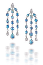 Moonstone & Diamond Chandeliers