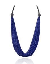 Lapis & Spinel Necklace