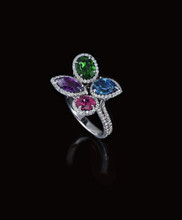Jewel Tone Ring