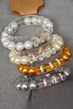 Bracelet Glass Pearl W