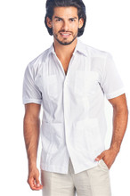2028 GUAYABERA MEN WHITE