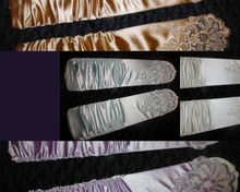 LOT OF 200 EMBROIDERED LONG GLOVES 250.00 LOT. COMMERCIAL OPPORTUNITIES.