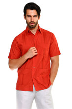2024 GUAYABERA MEN 1673 RED