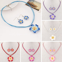 PENDANT WHITE FLOWER