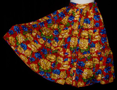 """SKIRT NO - 1- 26"""" long . 22' waist elastic on the back . size - 8 to 10 ."""