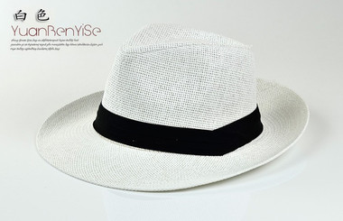 "Panama, Europe and the United States along the straw hat sun hat ""plenero"" caribbean style ."
