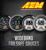 AEM UEGO Failsafe Wideband AFR Boost Gauge